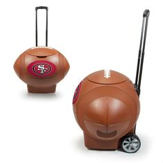 Use this Exclusive coupon code: PINFIVE to receive an additional 5% off the San Francisco 49ers Football Cooler at SportsFansPlus.com
