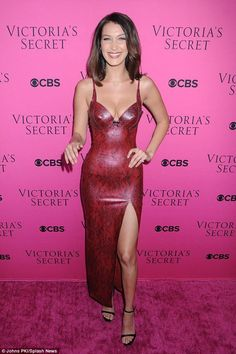 Much-loved show: Bella had stormed the runway in Shanghai for the Victoria's Secret Fashio...