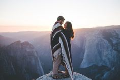 Yosemite Engagement photos by: athenagraceco