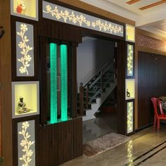unit With Mandir Room Partition Wall, Glass Partition Designs, Living Room Partition Design, Living Room Tv Unit Designs, Living Room Divider, Bedroom False Ceiling Design, Room Door Design, False Ceiling Living Room, Hall Design