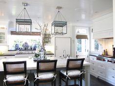 "classic • casual • home: ""New Classic"" Elegant Beach Kitchen"