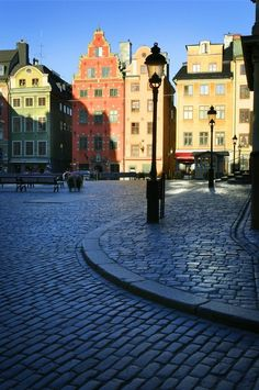 Stortorget Square, Stockholm, Sweden--- a very cool city