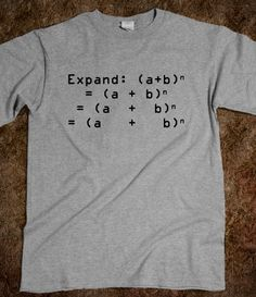 Math Humor: Expand (Light) $24.99