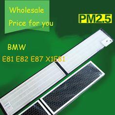 49.02$  Buy now - http://aliw5h.shopchina.info/1/go.php?t=32698353142 - 1set  High Quality Actived Carbon Heap Car Air Filter For BMW E81 E82 E87 X1E81 Car Air Conditioner Air Purifier Freshener  #bestbuy