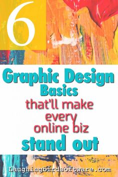 Design Basics for Online Entrepreneurs Learn these simple graphic design basics to increase your chances of online business success. Using stunning visuals will help your product or service get the attention it deserves. these simple graph. Graphisches Design, Design Basics, Blog Design, Brand Design, Graphic Design Software, Graphic Design Tips, Graphic Art, Branding, Do It Yourself Design