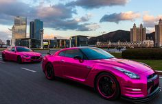The Pink Chrome Nissan GT-R and Maserati Quattroporte Aren't Just for Barbies