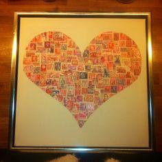 Mit allerførste frimærke projekt :)