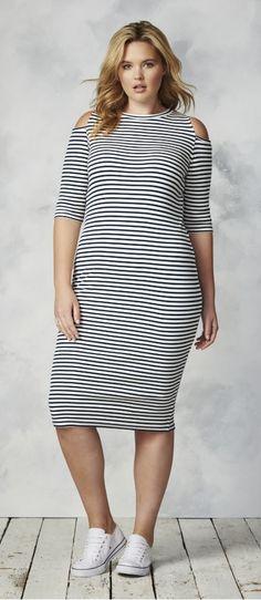 Plus Size Trapeze T-Shirt Dress | Forever 21 PLUS - 2000180166 ...
