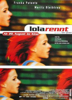Lola rennt (1998), by Tom Tykwer