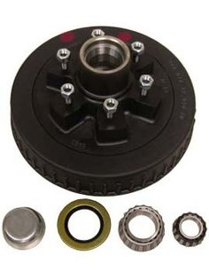 "1-42655HD --- 6 on 5-1/2"""" Hub and Drum Assembly - 6,000 lb"