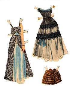 Huge site with tons of paper dolls. Save the image and print it. Would have loved this as a child...