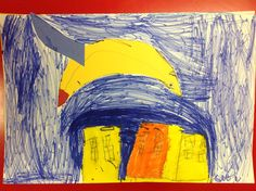 Primary Color Super Hero 1st Grade Artist