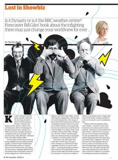 Guardian G2 Lost in Showbiz page: Weathermen at war