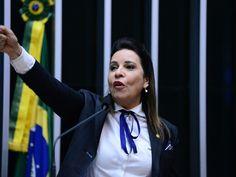 """HIPOCRISIA: Deputada """"golpista"""" que citou marido no impeachment roubou dinheiro…"""