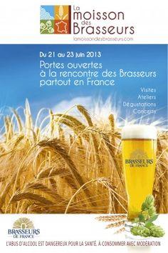 Portes ouvertes à la rencontre des Brasseurs partout en France. Du 21 au 23 juin 2013.