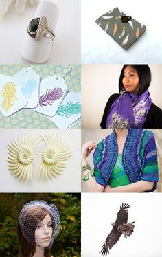 Birds of a Feather.... by Mary Carrellas on Etsy--Pinned with TreasuryPin.com