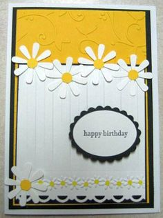 daisy, daisy, daisy by lisapoole - Cards and Paper Crafts at Splitcoaststampers