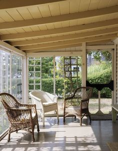 simple wooden structure lined with screen, use old screen door, plant trellises along sides for color & shade
