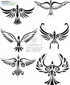 Bird Tribal Tattoo Tattoo Bird Designs