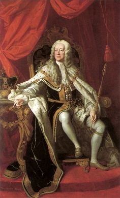King George II by Thomas Hudson - Courtesy of Wikipedia http://en.wikipedia.org/wiki/George_II_of_Great_Britain#mediaviewer/File:George_II_by_Thomas_Hudson.jpg