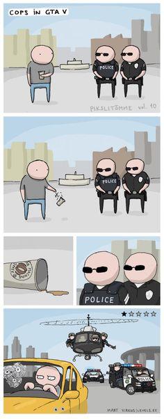 Cops in GTA V