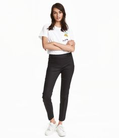 Pantalon | Zwart | Ladies | H&M NL