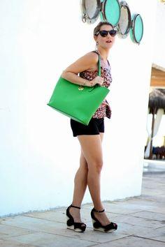 Look of the day, peplum, Michael Kors, fashion