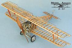 Sopwith Camel Wood Airplane Model Kit by Model Airways - Modern Balsa Wood Models, Rc Model, Aircraft Design, Model Airplanes, Model Ships, Scale Models, Radio Control, Airplane Kits, Plane Crafts