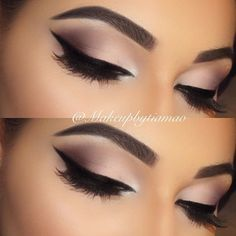 10 Hottest Eye Makeup Looks – Makeup Trends: #2. Purple Smokey Eye