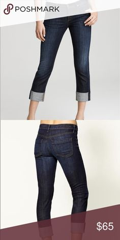 """Citizens of humanity cropped jeans Citizens of Humanity. """"Dani cropped straight leg"""". Dark wash. Citizens of Humanity Jeans"""
