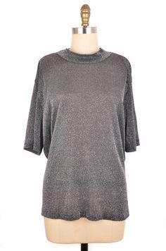 Lauren Lee Woman Black Sparkle Top Size L   ClosetDash #fashion #style #tops #blouses