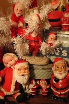 Christmas Santa dolls