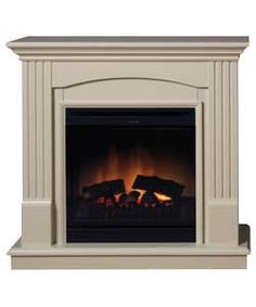 Living Room With Argos Wall Mounted Fire