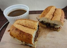 Crock Pot French Dip Sandwiches - I love this blog! She has some really great recipes and she has meals and desserts!