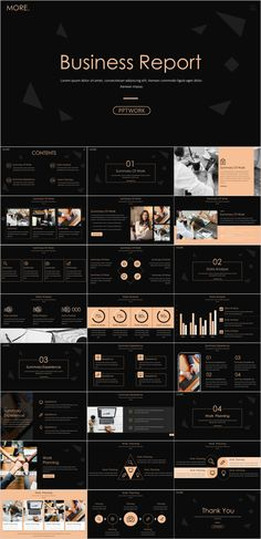 Annual and business report PowerPoint template Professional Ppt Templates, Powerpoint Design Templates, Joomla Templates, Business Powerpoint Templates, Keynote Template, Ppt Design, Design Art, Marketing Presentation, Business Powerpoint Presentation