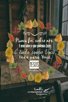 Amém meu Senhor JESUS!! Love The Lord, My Lord, God Is Good, Gods Love, God Jesus, Jesus Christ, Christian Post, Inspirational Phrases, Follow Jesus