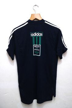 Vintage ADIDAS The Brands With The Three Stripes Hip Hop Swag Streetwear Tee T Shirt by VintageClothingMall on Etsy