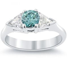 60 Magnificent & Breathtaking Colored Stone Engagement Rings ... fd-575-1_3 └▶ └▶ http://www.pouted.com/?p=32118