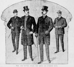 Mens Fashion 1901 by ~Edwardian-Bess on deviantART