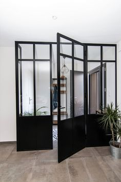 Door Entryway, French Doors Patio, Entrance Ways, Sliding Doors, Glass Door, My House, Beach House, Sweet Home, New Homes