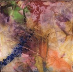 """Sam Gilliam (American, b. 1933), """"Scatter,"""" 1972; Indianapolis Museum of Art, Emma Harter Sweetser Fund, 80.157"""