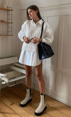 Basic Outfits, Preppy Outfits, Mode Outfits, Classy Outfits, Summer Outfits, Fashion Outfits, Fashion Moda, Daily Fashion, Stil Inspiration