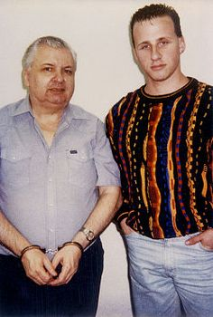 """Jason Moss and John Wayne Gacy, 1994  Jason Moss, an ambitious college student looking to get a jump start on a career in law enforcement, wrote to several serial killers, primarily John Wayne Gacy, who almost killed Jason. From the 1999 Extra episode: """"The fascination (with serial killers) almost cost him his life"""". Tragically, Jason did take his own life on June 6, 2006..."""