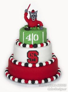 cute birthday cake idea...for any team!