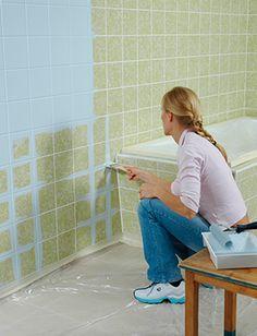 Die 16 Besten Bilder Von Bad Renovierung Fliesen Streichen Painting Bathtub Bath Room Und