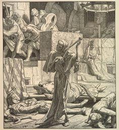 Der Tod als Erwürger (1851) by Alfred Rethel