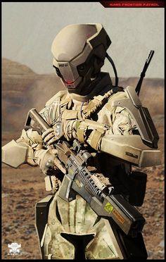 ArtStation - Photobashing sci fi soldiers, Rodrigo A. Branco