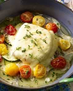 Ovenschotel met kabeljauw en mozzarella