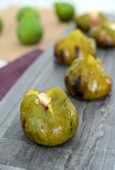 Cheese Stuffed Grilled Figs - Fresh figs are grilled to sweet perfection and stuffed with delicious cheese. An amazing way to enjoy these wonderful fruits during the summer. Post is in collaboration with @homerightps