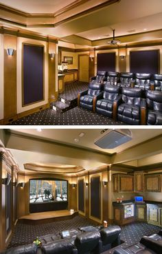 home theater httpluxuryhomequarterlycomjd audio video - Home Theater Stage Design